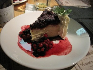 blueberry cheesecake-social house-food lovers